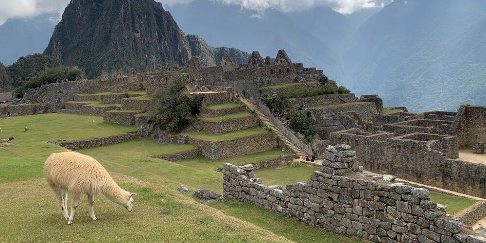Machu Picchu a beautiful Inca city