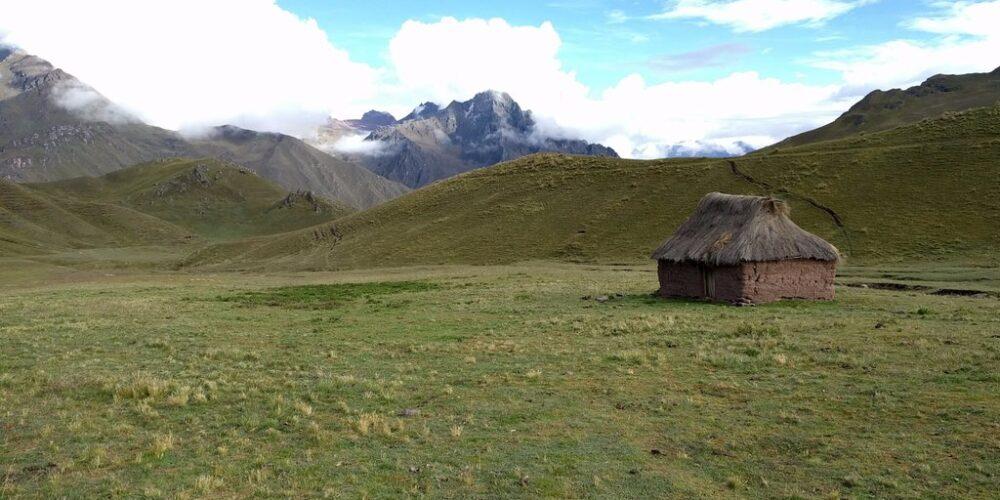 Andean house in the ancascocha trek 4 days