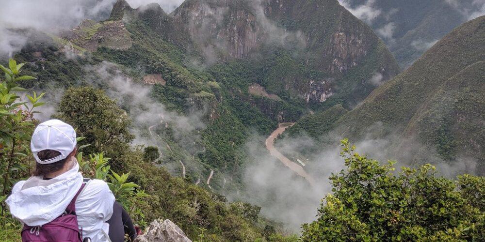 Machu Picchu a beautiful view from Inti Punku