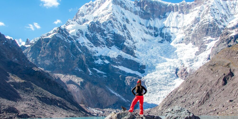 The highest mountain in the Cusco region can be seen on the Ausangate 5 day trek