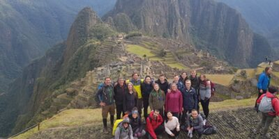 Machu Picchu a paradise in the high mountains of the jungle