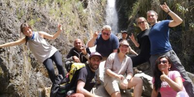 Always enjoying a beautiful unforgettable adventure on the Salkantay trek 3 days