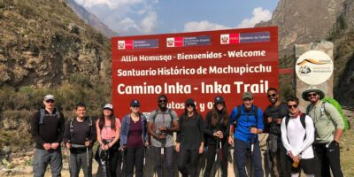 Beginning of the Inca trail