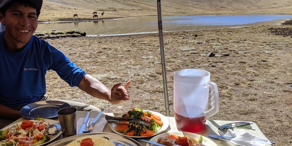 Huchuy Qosqo Trek Meals