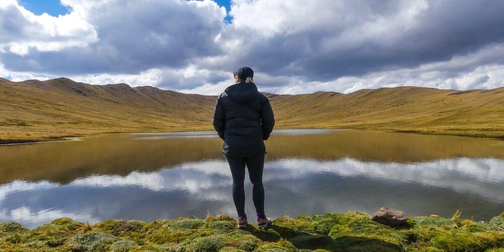Lake in Huchuy Qosqo