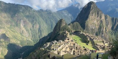 11At the end after the lares walk we arrived at Machu Picchu