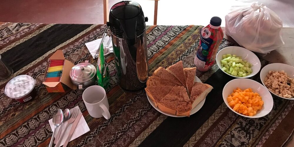 The 3-day trek offers you delicious breakfasts every morning.
