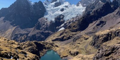11Beautiful view of Pitusiray lake on the Lares trek 3 days
