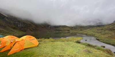 11Our camp on the Lares trek 3 days
