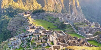 today we have a beautiful morning in Machu Picchu