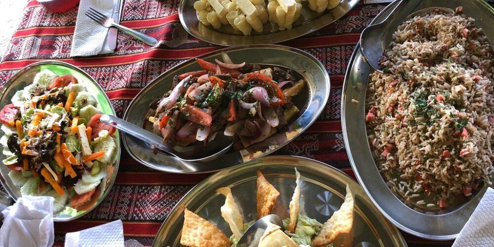 Food In Salkantay Trek 7 Days
