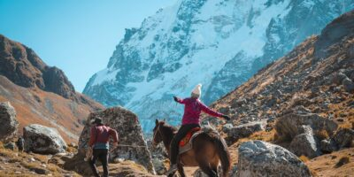 The salkantay trek 4 days is the best option to get to Machu Picchu