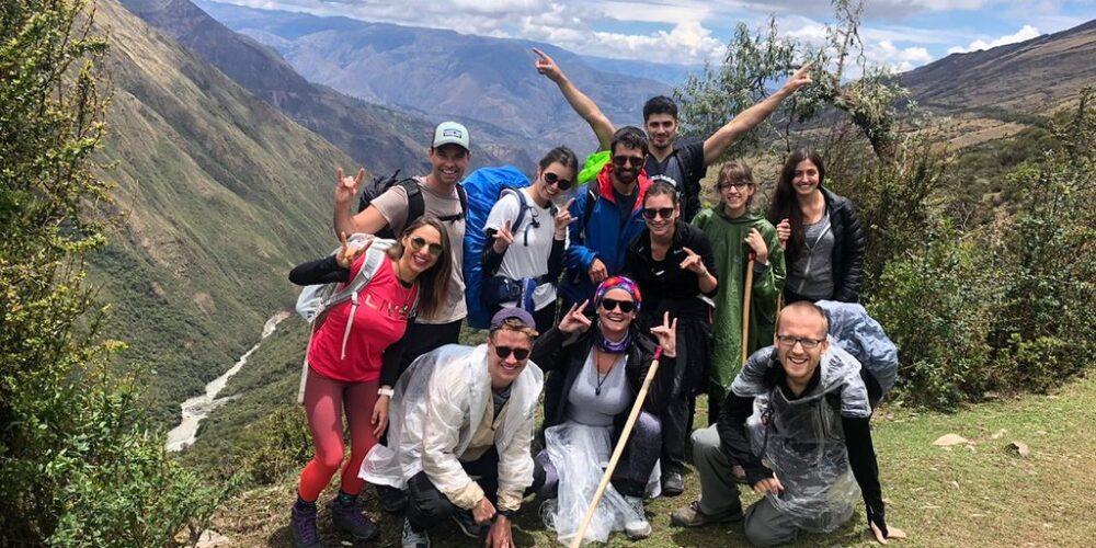 Start of the salkantay trek 5 days