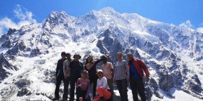 Salkantay Mountain And Salkantay Pass