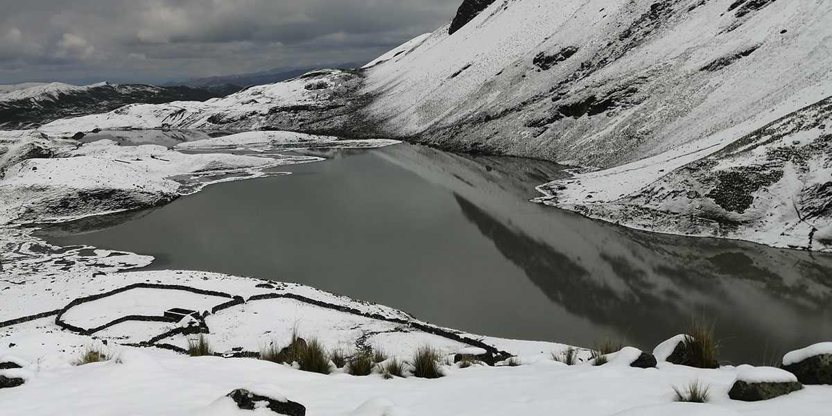 Ausangate 1 Day Trek Azul Cocha Lake