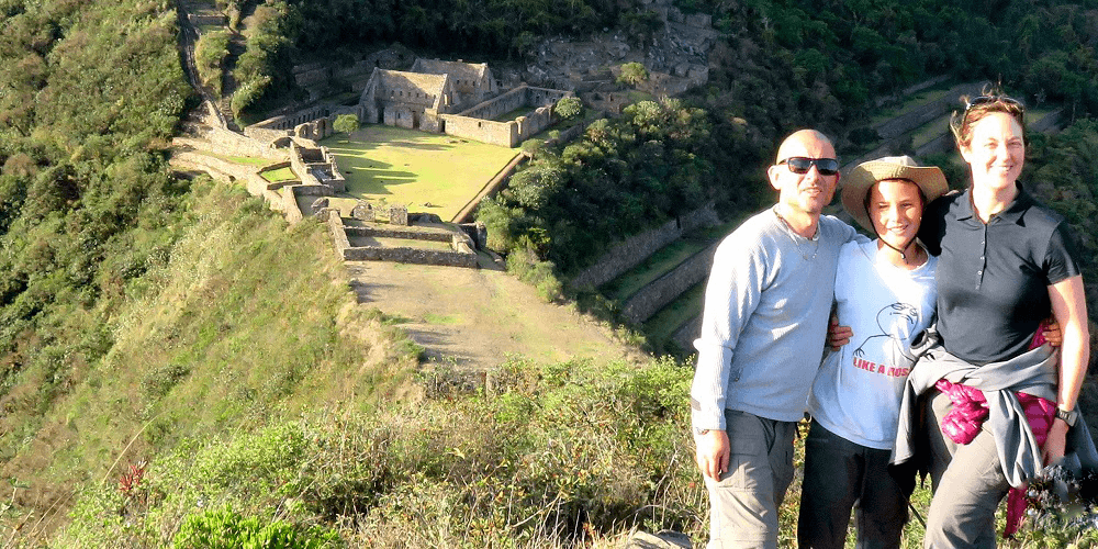People in Choquequirao