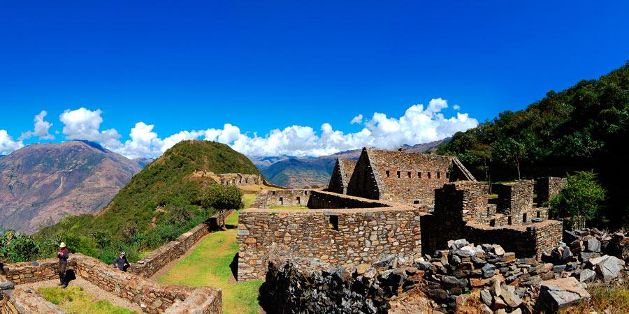 Ruins in Choquequirao Trek 8 Days