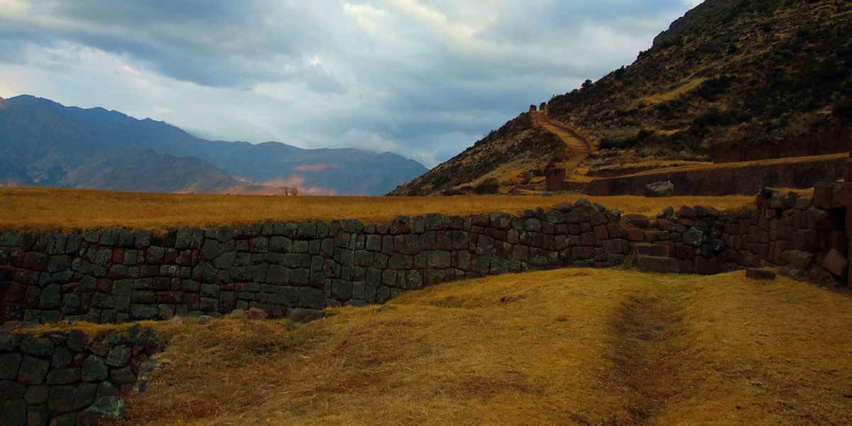 Beautiful hike to Huchuy Qosqo trek