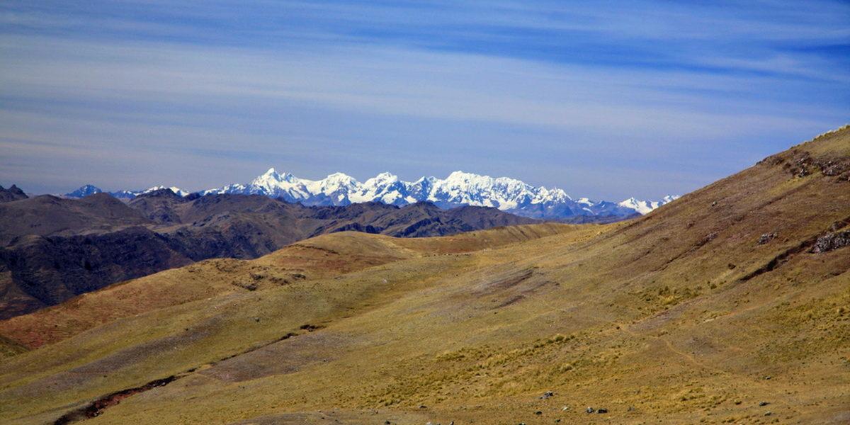 Beautiful view Huchuy Qosqo