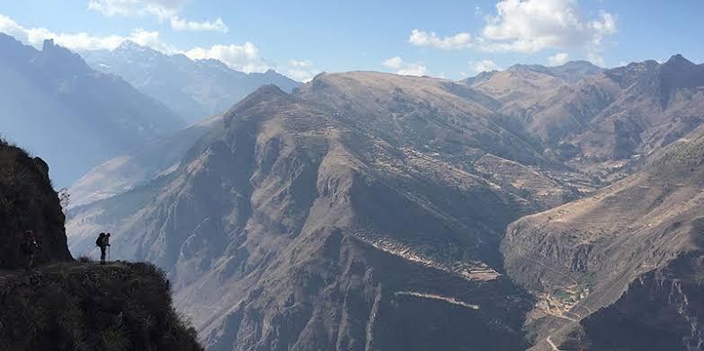 Beautiful view Huchuy Qosqo Trek