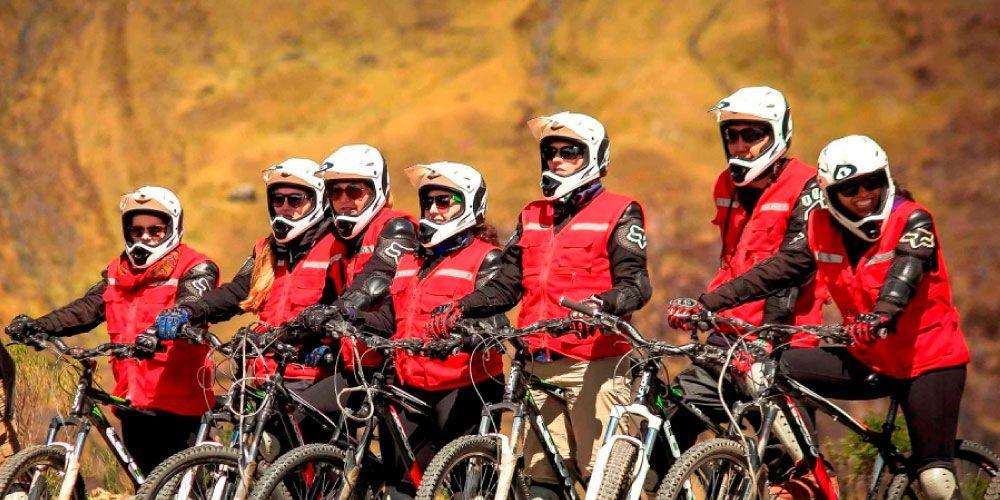 Inca Jungle Tour Biking