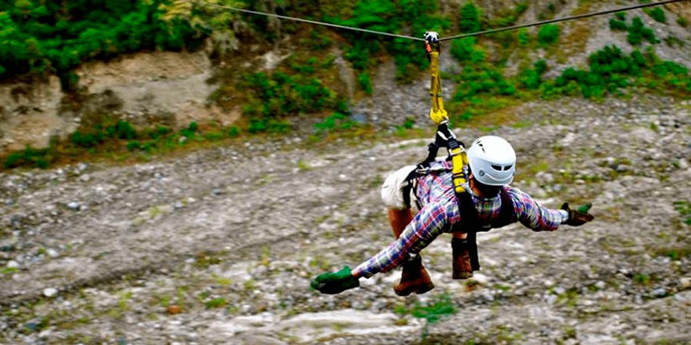 Inca Jungle Tour Zip line