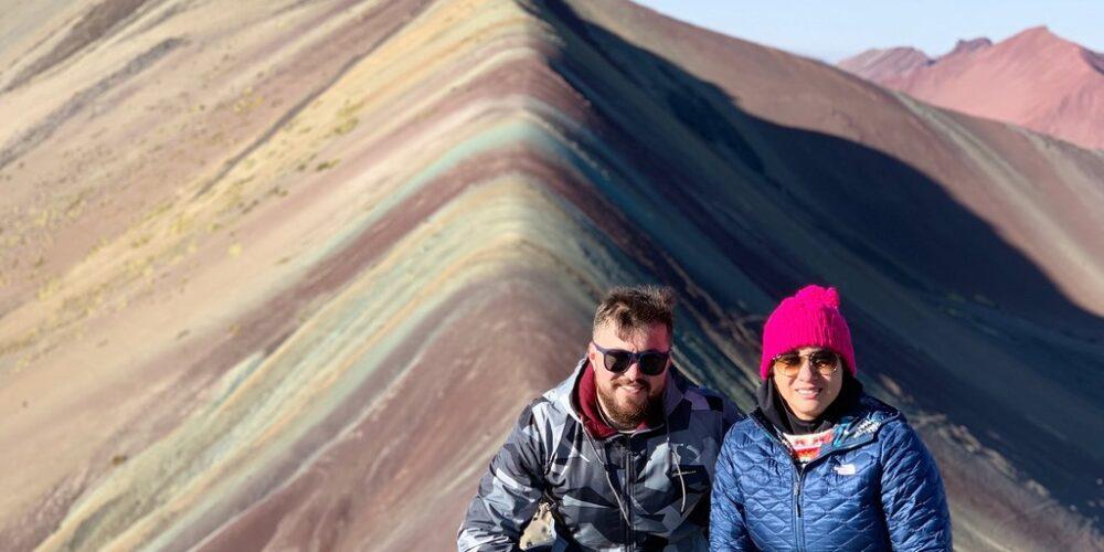 A Photo in Rainbow Mountain