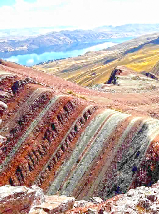 Pallay Punchu mountain