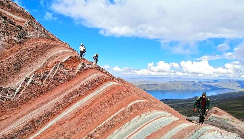 Top of Pallay Punchu trek