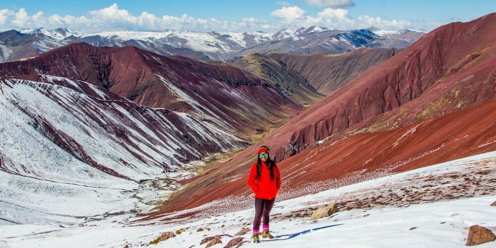 Machu Picchu And Red Valley Peru