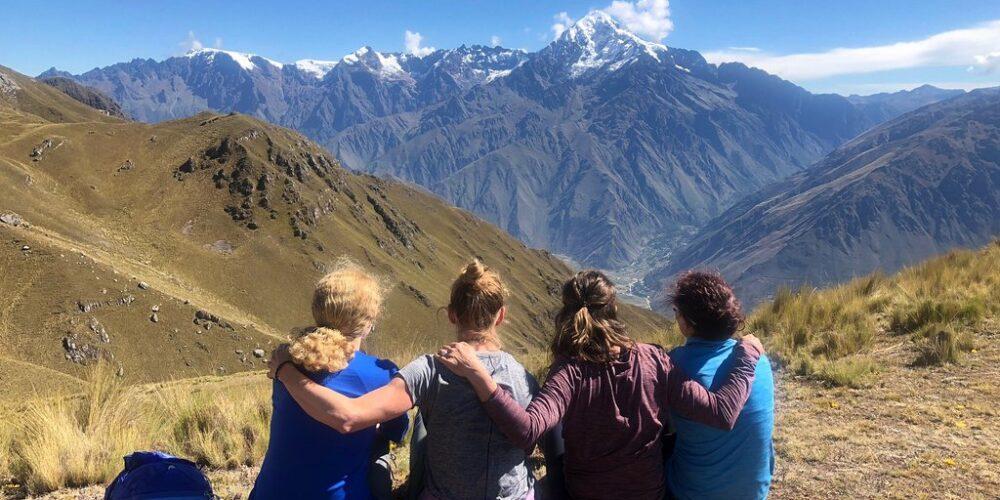 Beautiful view on the Ancascocha trek 5 days