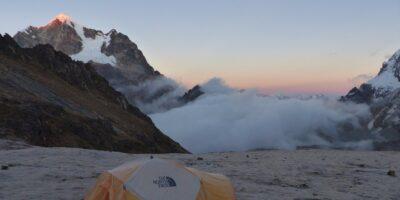 11Satisfactory camp on the Ancascocha trek 5 days
