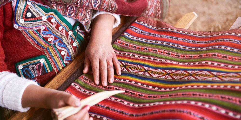 Handmade fabrics Cusco
