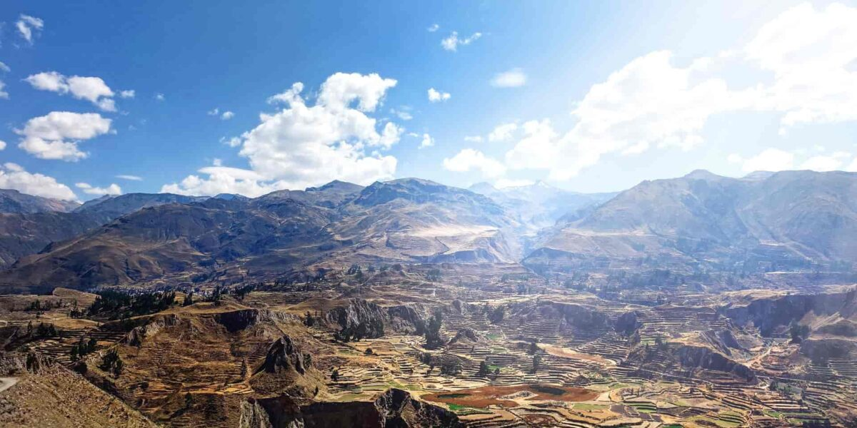 Colca Canyon Hiking Peru