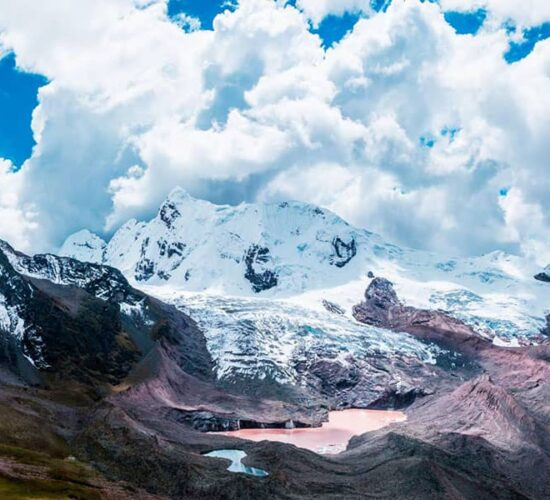 amazing snowy mountains and lakes you can only see this beautiful landscape on the ausangate trek book it now