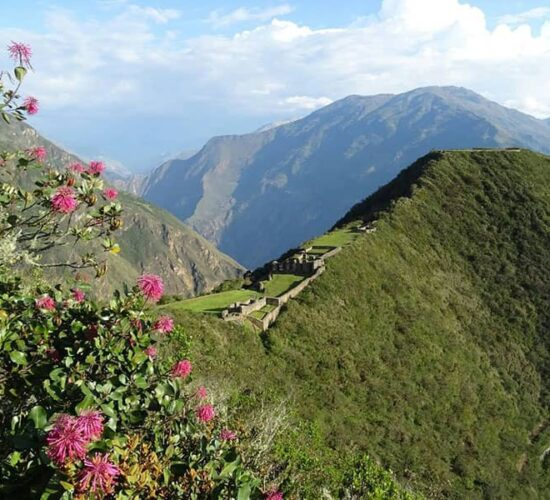 Choquequirao archaeological complex is a beautiful Inca construction