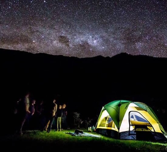 On the Choquequirao trek to Machu Picchu 9 days we will have starry and beautiful nights.