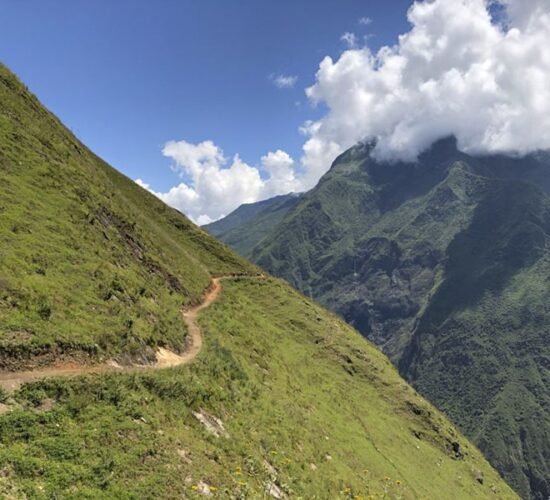 This is our path to get to Choquequirao