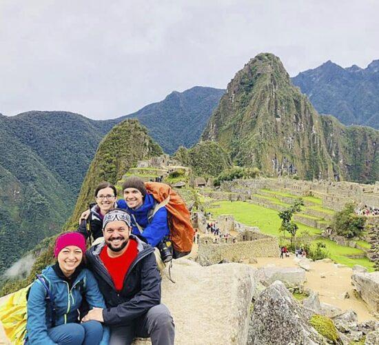 Machu Picchu Peru an ancient Inca city