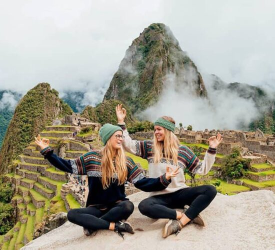 It is gratifying to arrive at Machu Picchu after long walks.