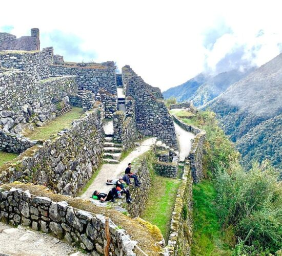 patamarca is an archaeological complex on the original Inca trail