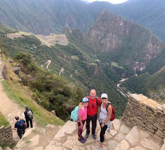 Inti Punku (Sun Gate)beautiful view from inti punku to Machu Picchu