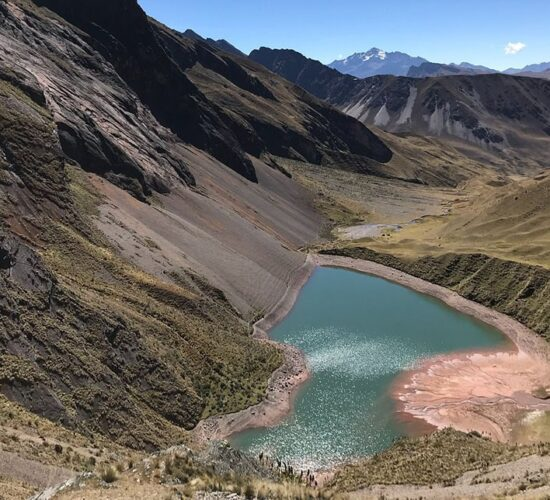 Ancascocha Lakethe Ancascocha trail is really beautiful with lakes and mountains