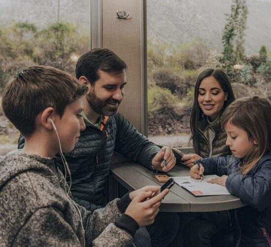 Unforgettable family trip by train to Machu Picchu