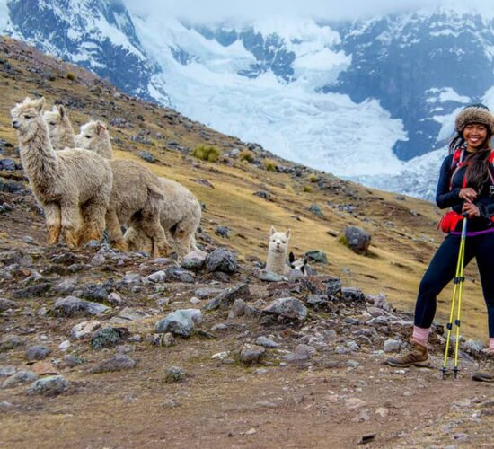 the palomani pass is the highest in the ausangate trek 5 days