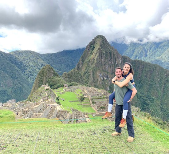 Ausangate Trek To Machu Picchu 4 Daysat the end of walking in ausangate and rainbow mountain 4 days we arrived at the city of machu picchu
