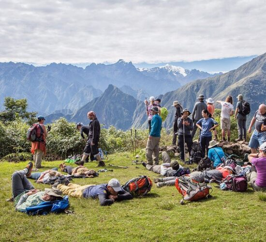 the archaeological complex of llactapata is impressive, since the 5-day salkantay trek conbines this new route.