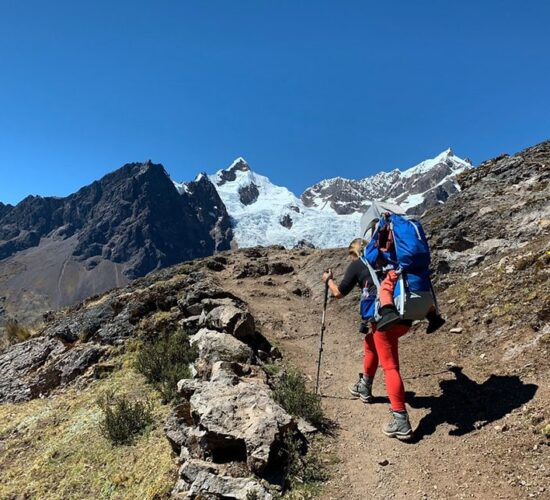 Lares trail is undoubtedly an unforgettable adventure surrounded by snow-capped mountains and landscapes