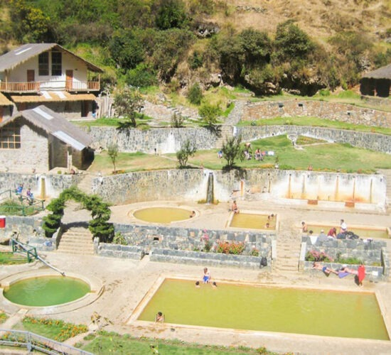 the lares trek 5 days you can enjoy the thermal baths of lares
