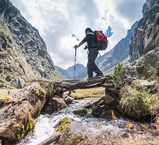 the trail the 6 days is undoubtedly beautiful surrounded by rivers and incredible passages